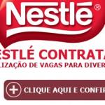 Nestlé lança no Brasil diversas vagas de emprego