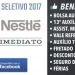 NESTLÉ – Processo Seletivo 2017 ** Bolsa Auxílio + Benefícios **