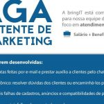 Vagas para assistente de Marketing 6 hs por dia R$ 1.940,00