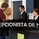 Rede de hotelaria abre vagas para recepcionista de hotel -inicio imediato.