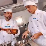 Senac abre inscrições para o curso de gastronomia GRÁTIS -Acesse sua unidade e inscreva-se