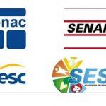 SESC, SESI, SENAC e SENAI têm vagas abertas para todos os níveis e salários de até R$4.030,00!