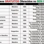 SESI – OFERECE CURSOS GRATUITOS ONLINE COM CERTIFICADO IMEDIATO!