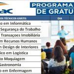 SENAC PRONATEC Cursos Gratuitos, Inscrições abertas para o 1º Semestre de 2020