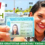 CNH SOCIAL 2019 – Baixa Renda! Detran abre inscrições para CNH Gratuita.