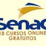 Senac abre 18 cursos online gratuitos em todo o país ➡ INSCREVA-SE JÁ
